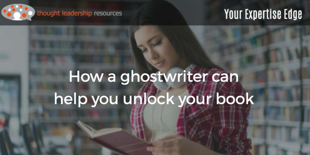 #86 How a ghostwriter can help you unlock your book