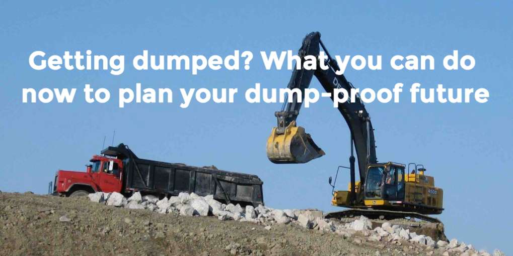 #19 Getting dumped? What you can do now to plan your dump-proof future